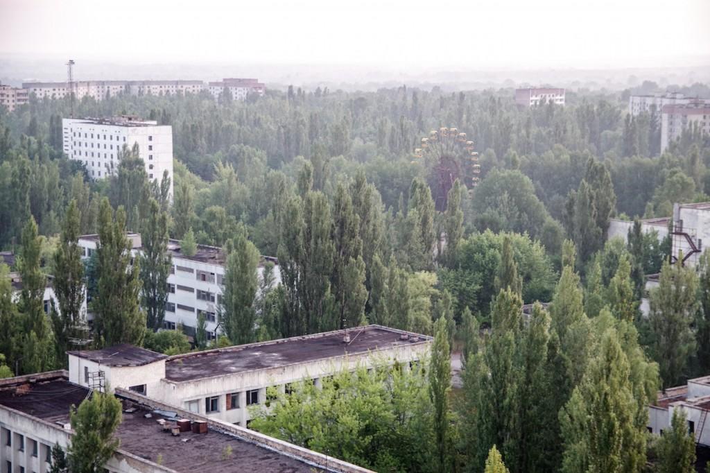 Pripetė - miestas miške, ar miškas mieste?