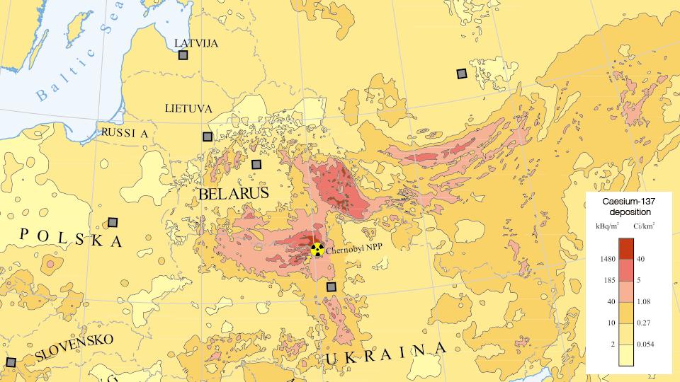 Užterštumo žemėlapis